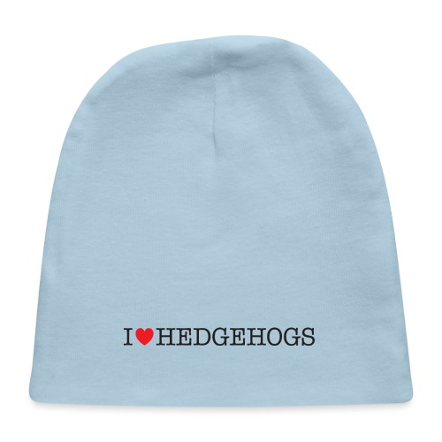 I Love Hedgehogs - Baby Cap