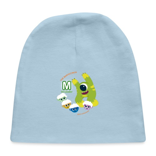 The Babyccinos M for Monster - Baby Cap