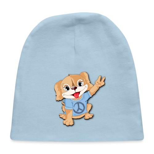 Peace Puppy - Baby Cap
