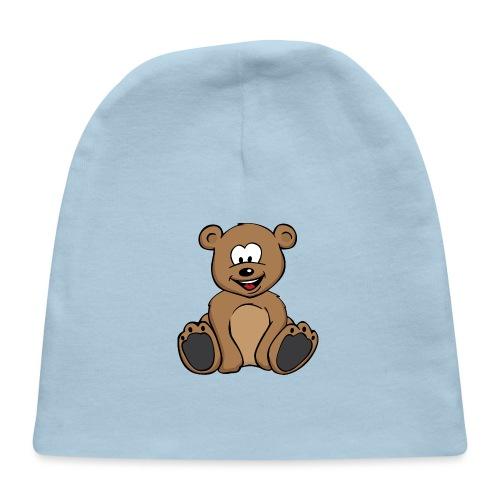 Cute Teddy Bear Cartoon - Baby Cap