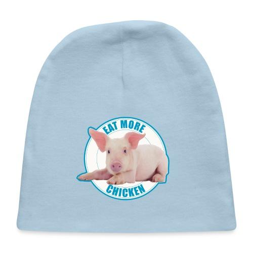Eat more chicken - Sweet piglet print - Baby Cap