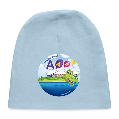 The Babyccinos The Letter A - Baby Cap