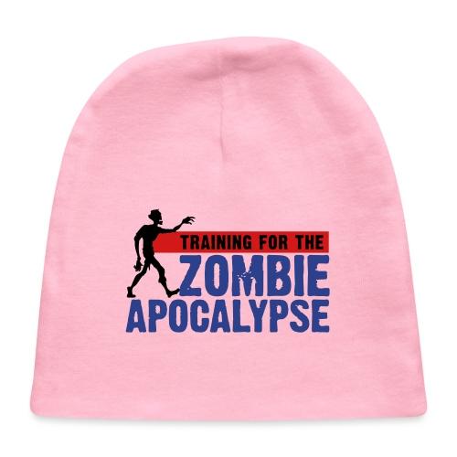 Zombie Apocalypse Gym Motivation - Baby Cap