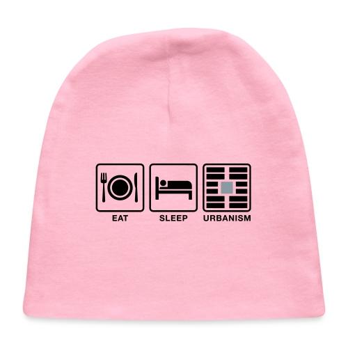 Eat Sleep Urb big fork-LG - Baby Cap