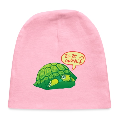 Turtle asking if it's good time to go out of shell - Baby Cap