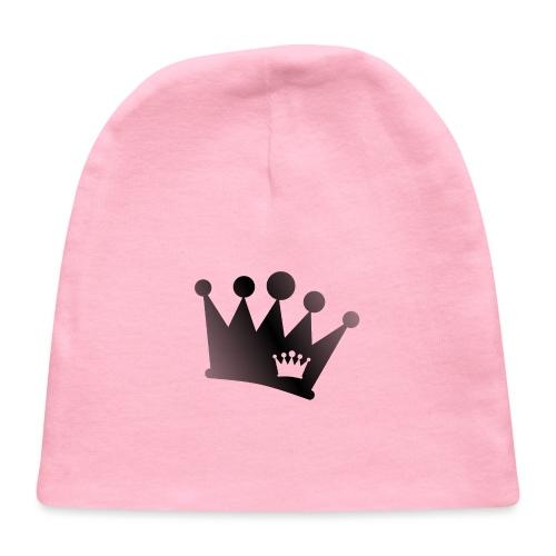 Double Crown black - Baby Cap