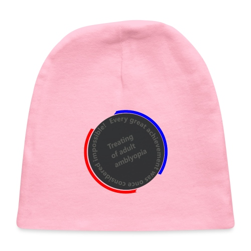 Treating Adult Amblyopia - Baby Cap