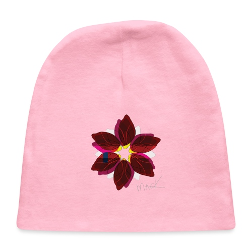 Collage Style Flower - Baby Cap