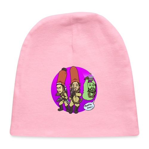 memebusters anotha one purple - Baby Cap