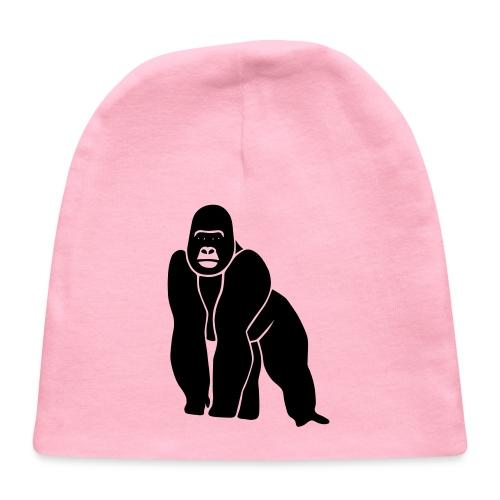 gorilla ape monkey king kong godzilla silver back - Baby Cap