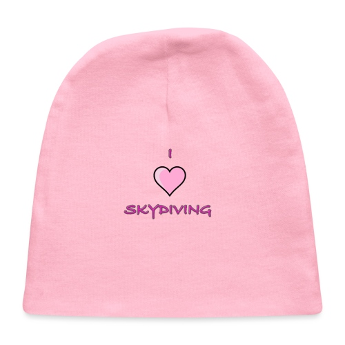I Love Skydiving/BookSkydive/Perfect Gift - Baby Cap