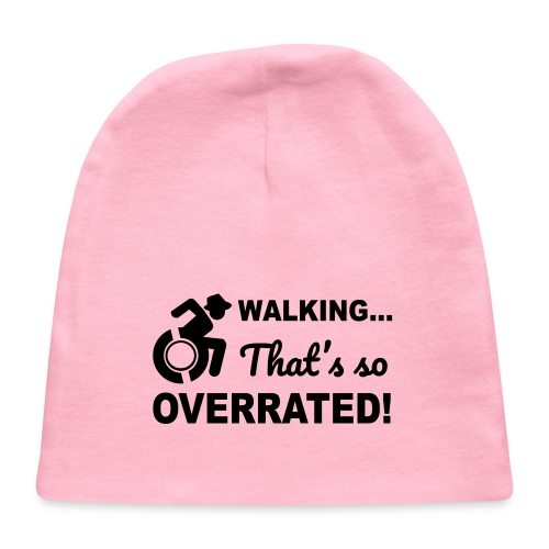 Walking that's so overrated for wheelchair users - Baby Cap