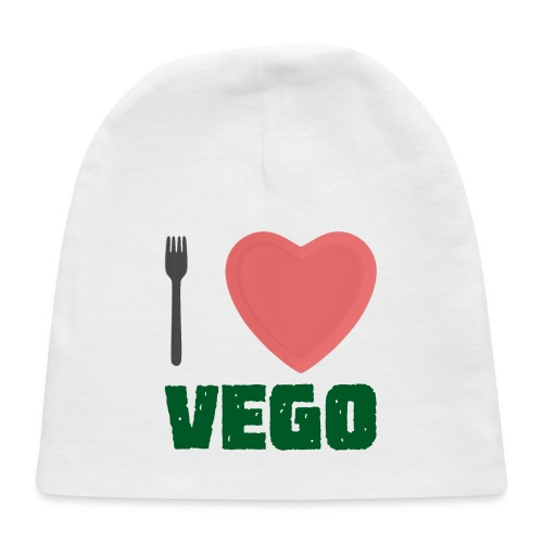 I love Vego - Clothes for vegetarians - Baby Cap