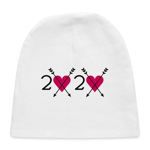 2020 heart - Baby Cap