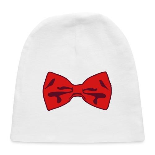 2 Color Bow Tie - Baby Cap