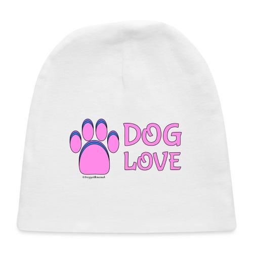 Pink Dog paw print Dog Love - Baby Cap