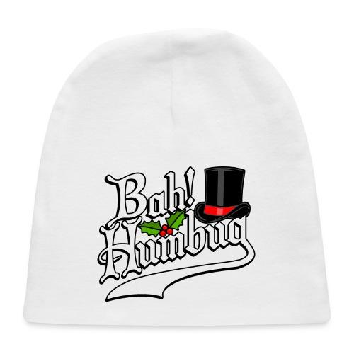 Bah Humbug Christmas Scrooge Funny No Humbuggery - Baby Cap