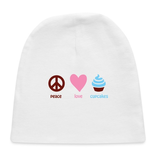 peacelovecupcakes pixel - Baby Cap