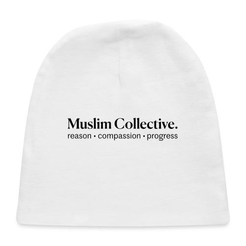 Muslim Collective Logo + tagline - Baby Cap