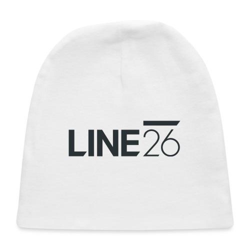 Line26 Logo (Dark Version) - Baby Cap