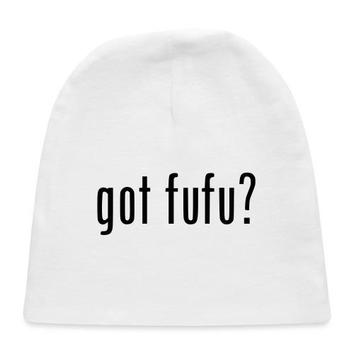 gotfufu-black - Baby Cap