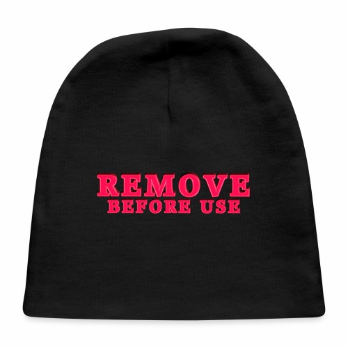 Remove Before Use for light - Baby Cap