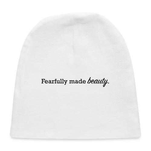 fearfully made beauty - Baby Cap