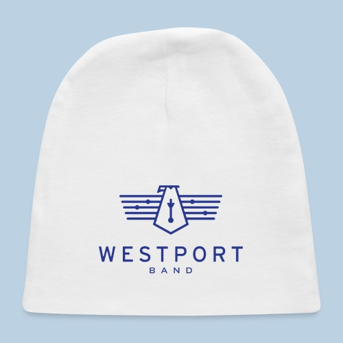 Westport Band Blue on transparent - Baby Cap