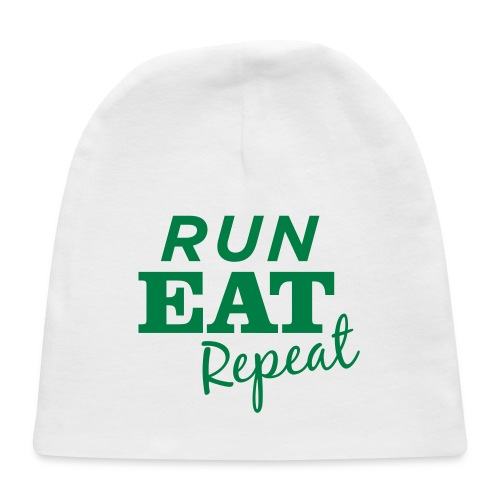 Run Eat Repeat buttons medium - Baby Cap