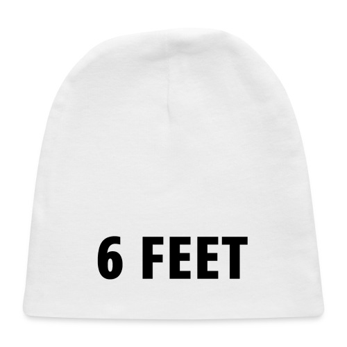 6 FEET - Social Distancing Mask & Shirt - Baby Cap