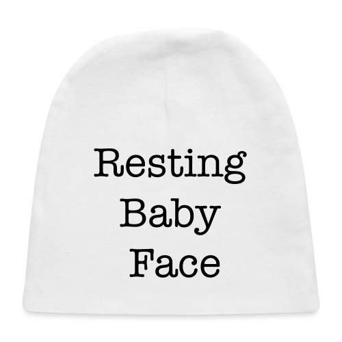 Resting Baby Face Baby Shower - Baby Cap