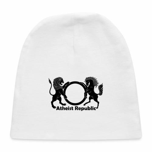 Atheist Republic Logo - Black - Baby Cap