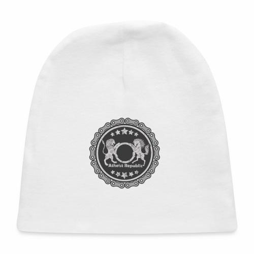 Atheist Republic Logo - Gear Circle - Baby Cap