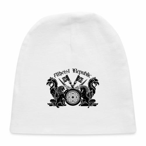 Atheist Republic Logo - Key Emblem - Baby Cap