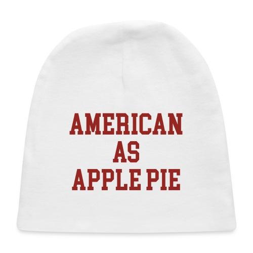 American as Apple Pie - Baby Cap