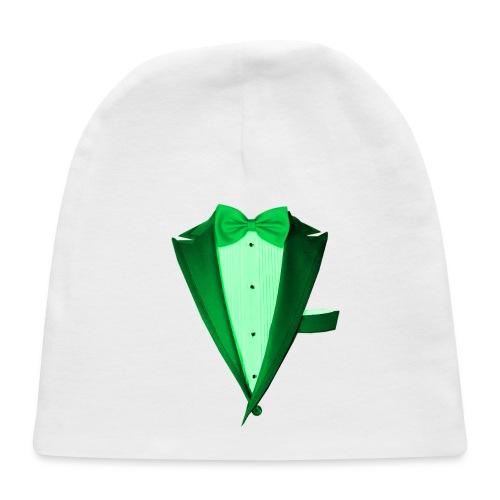 Green St.Paddy's DayTuxedo - Baby Cap