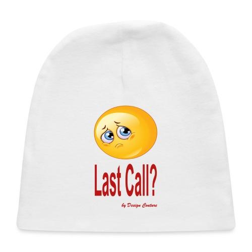 LAST CALL RED - Baby Cap