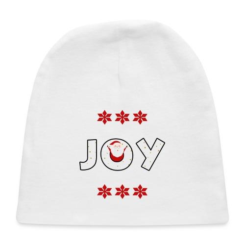 Christmas JOY Santa Clause Ugly Style - Baby Cap