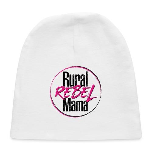 Rural Rebel Mama Logo - Baby Cap