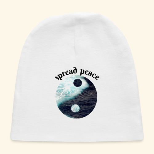 spread peace - Baby Cap
