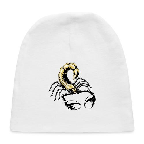 scorpion - gold - yellow - Baby Cap