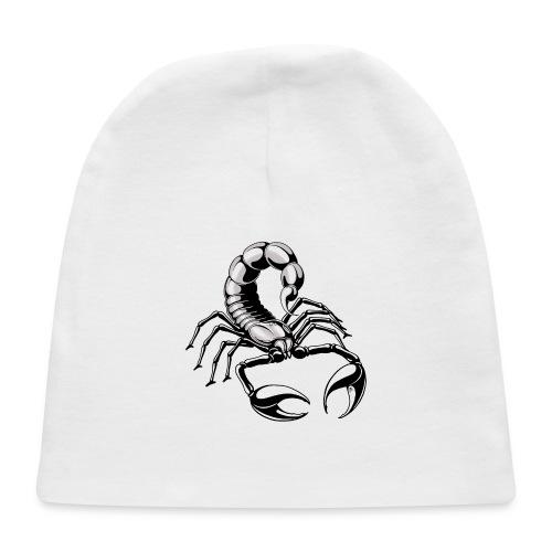 scorpion - silver - grey - Baby Cap