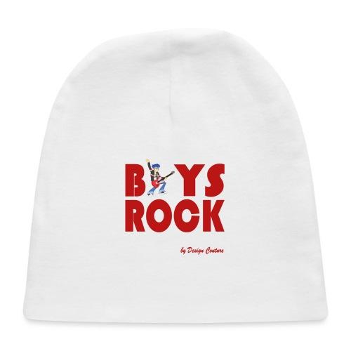 BOYS ROCK RED - Baby Cap