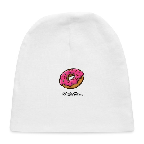 CF doughnut black writing - Baby Cap