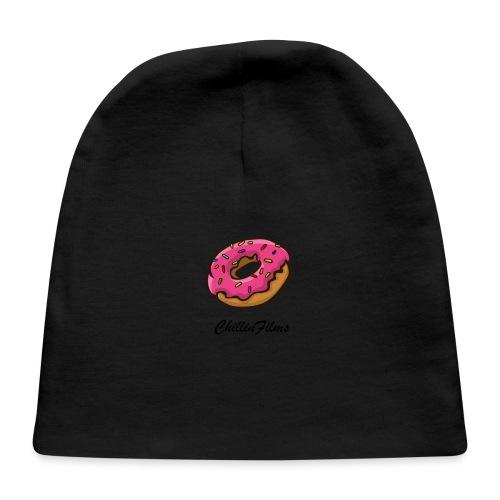 CF doughnut black writing - Baby Cap