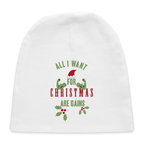 All i want for christmas - Baby Cap