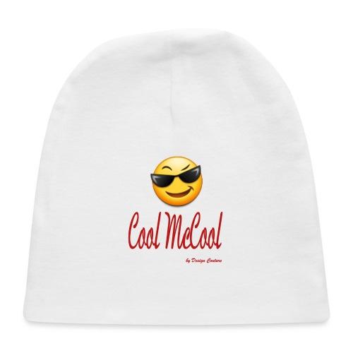 COOL MCCOOL RED - Baby Cap