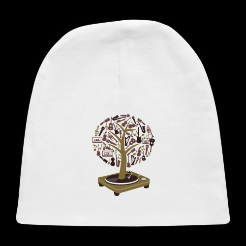 Turntable Tree of Music - Baby Cap