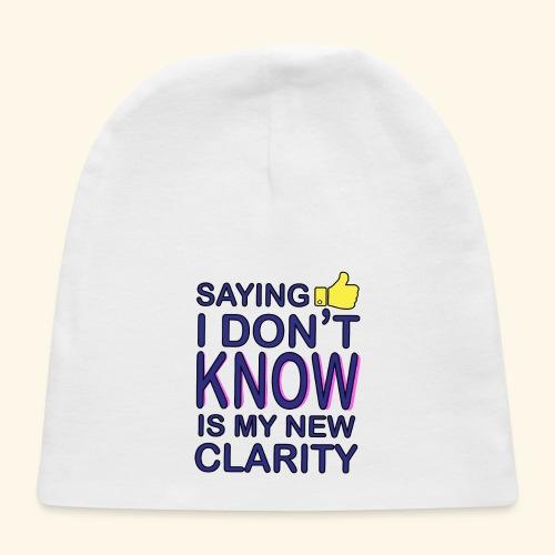 new clarity - Baby Cap