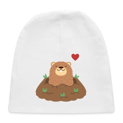 Groundhog Love - Baby Cap